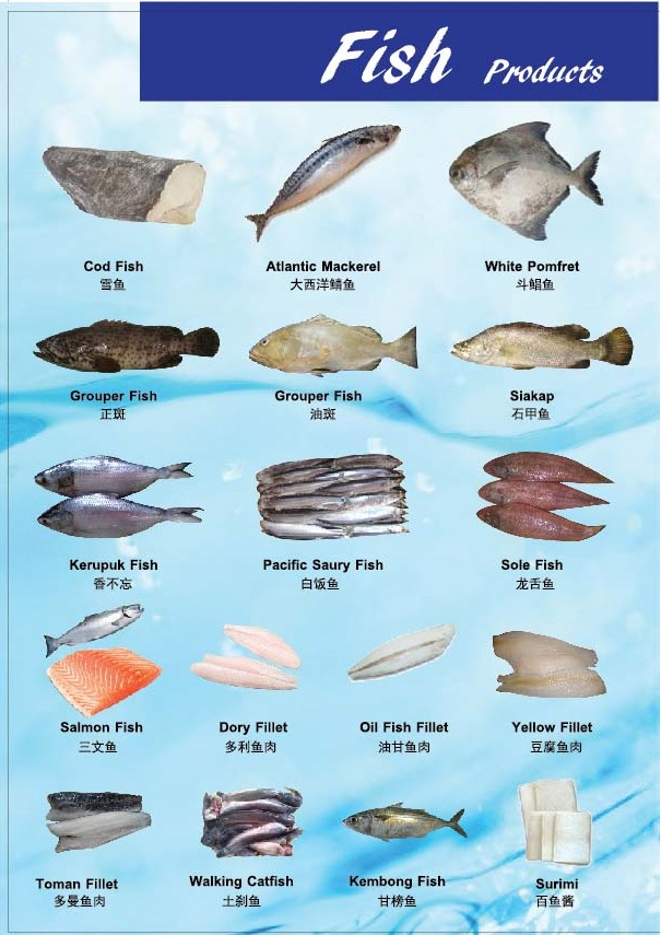 Tong Kin Seafood Products Catalogue 2